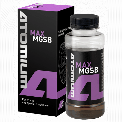 Atomium MAX MGSB (aditívum pre nápravy, redukčné prevodovky a samosvorné diferenciály)